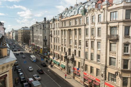 View apartment on Bolshoy 61 Апартаменты - Двухуровневые