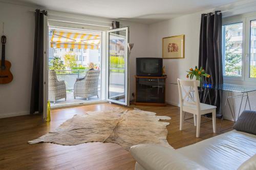 Ruhiges 4-Zim-Wohnung bis 8 Personen, Pension in Kreuzlingen bei Gottlieben