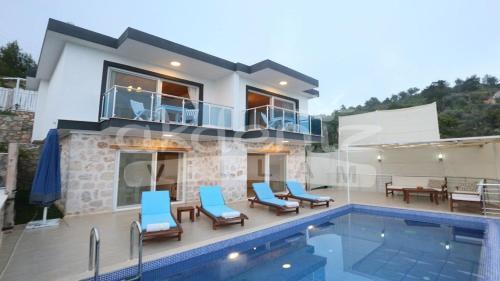 Kalkan Villa Üzümlü rezervasyon