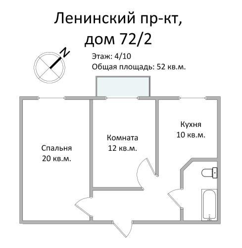 FortEstate Leninskiy prospekt 72/2 - image 3