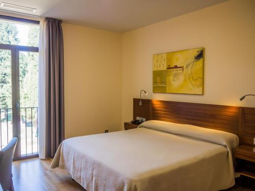 Doppel- oder Zweibettzimmer - Einzelnutzung Hospedería Puente de Alconétar 31