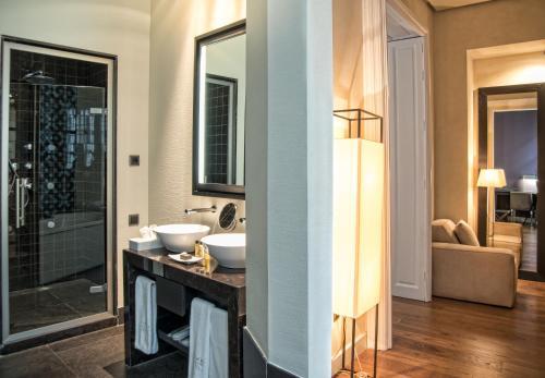 Grand Deluxe Doppel-/Zweibettzimmer Hotel Palacio De Villapanés 4