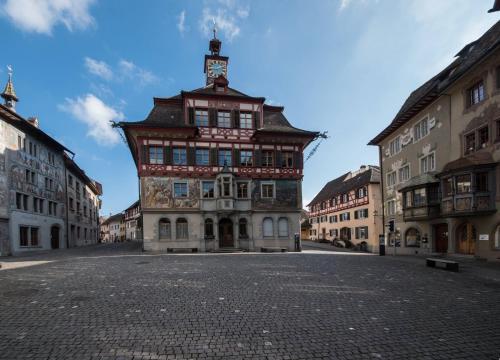 Hotel Roseberg, Stein