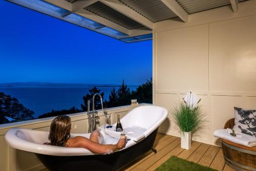 Woodside Bay Chalets, Ostend, New Zealand