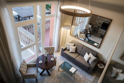 Habitación Doble Dúplex con vistas al jardín Hotel Casa Vilella 4* Sup 8