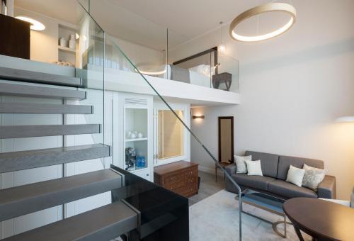 Habitación Doble Dúplex con vistas al mar Hotel Casa Vilella 4* Sup 2