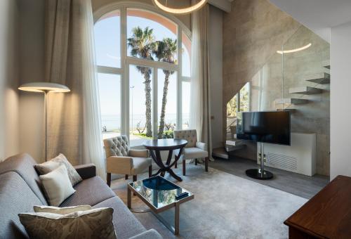 Habitación Doble Dúplex con vistas al mar Hotel Casa Vilella 4* Sup 5