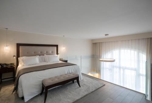 Habitación Doble Dúplex con vistas al mar Hotel Casa Vilella 4* Sup 3