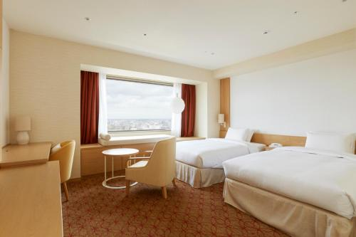 Keio Plaza Hotel Sapporo room photos