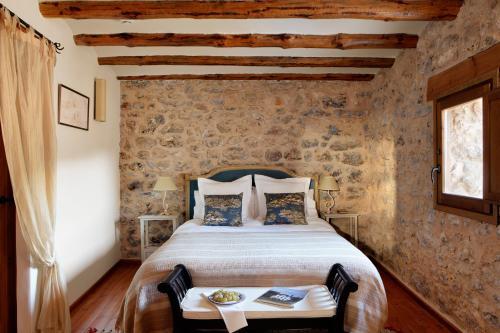 Double Room Beceite Hotel Mas de la Serra 2