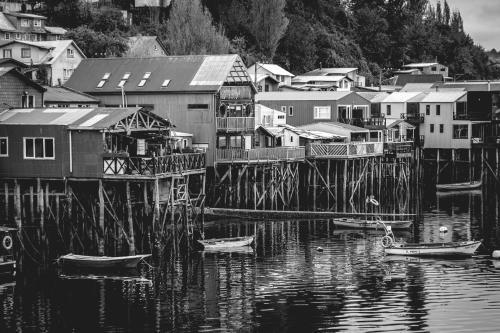 Castro, Los Lagos Region, Chile.