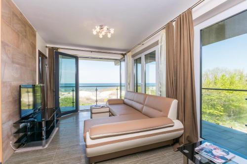 . Apartamenty Amon z widokiem na morze