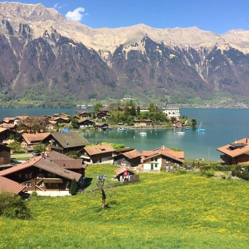. Switzerland Iseltwald Apartment