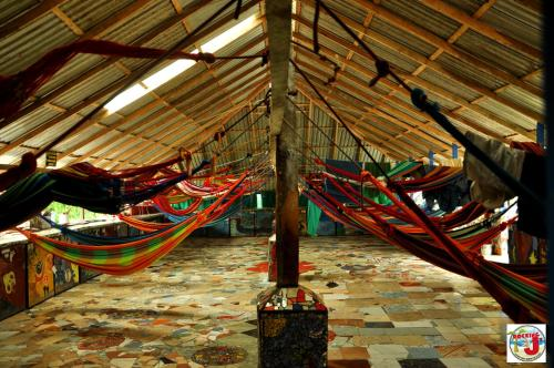 Hangmat in Gemengde Slaapzaal (Hammock in Mixed Dormitory Room)