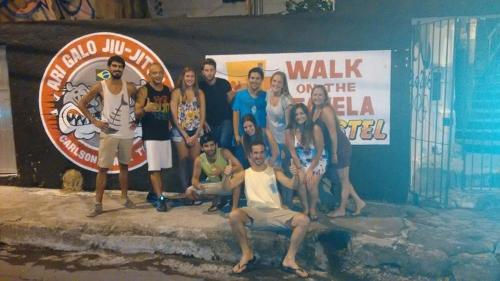 Walk on the Favela Hostel