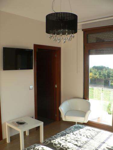 Double or Twin Room with Sea View Hotel Naturaleza Mar da Ardora Wellness & Spa 40