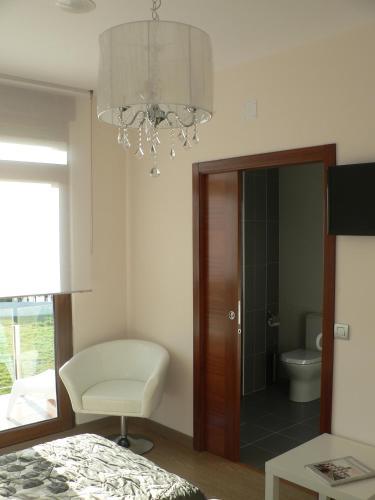 Double or Twin Room with Sea View Hotel Naturaleza Mar da Ardora Wellness & Spa 23