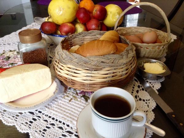 Lima Perú San Isidro: breakfast&fruits free