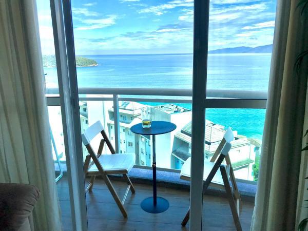 Porto Real Suites Apto com vista p/ mar
