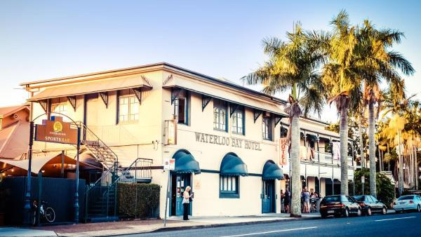 The Waterloo Bay Hotel Brisbane