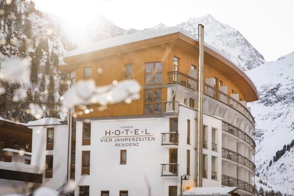 Vier Jahreszeiten Hotel Sankt Leonhard in Pitztal