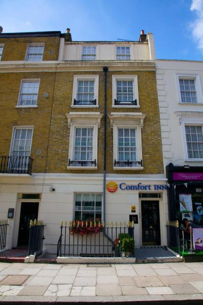 Comfort Inn Victoria Belgrave Road London