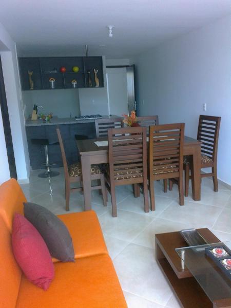 Apartamento amoblado edificio Santorini- San Gil