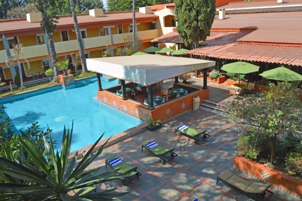Villas Arqueologicas Cholula Hotel Puebla