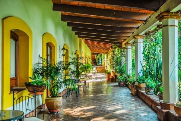 Hacienda Los Laureles Hotel Oaxaca
