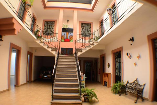 Hotel del Capitan de Puebla - vitrales