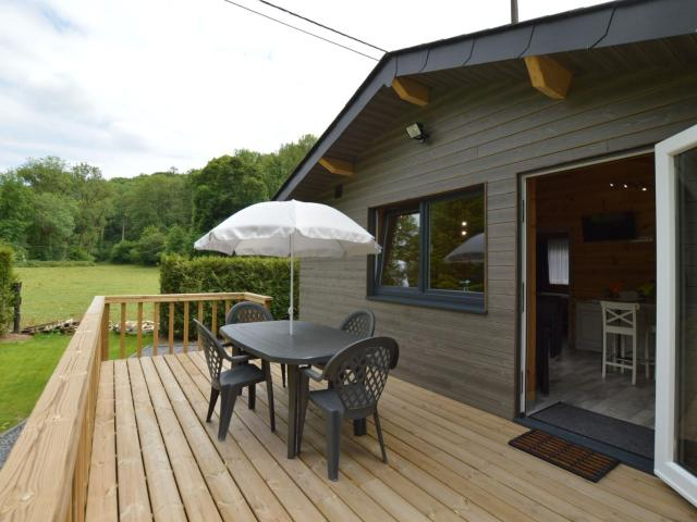 Magnificent Chalet in Ferrieres Ardenne With Private Terrace