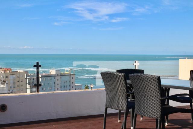 Atico FULL Balcony by Cadiz4Rentals