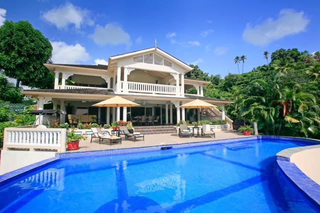 Marigot Bay Villa Sleeps 10 Pool Air Con WiFi