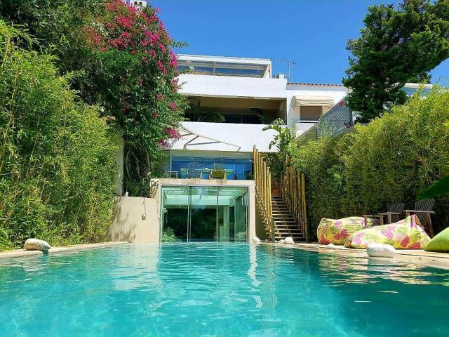 Athens beachfront villa
