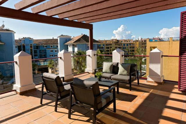 Sotogrande Marina 3Br Corner Duplex with Large Terrace