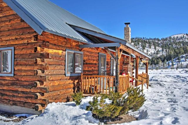 Authentic Cabin with Hot Tub in the San Juan Mtns!