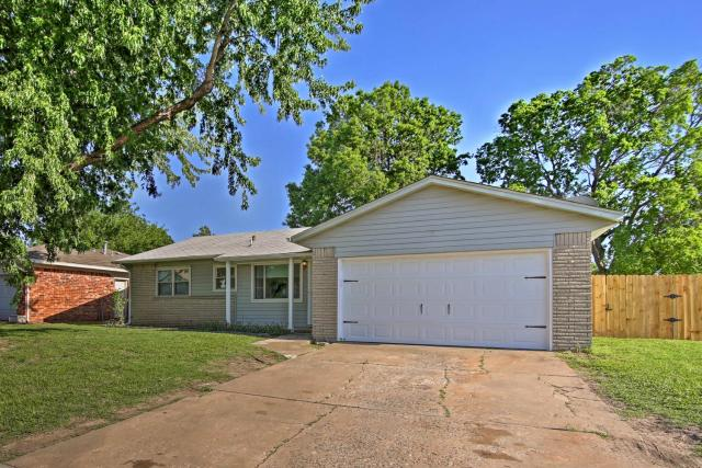 Spacious House with Yard - Mins from Downtown Tulsa!