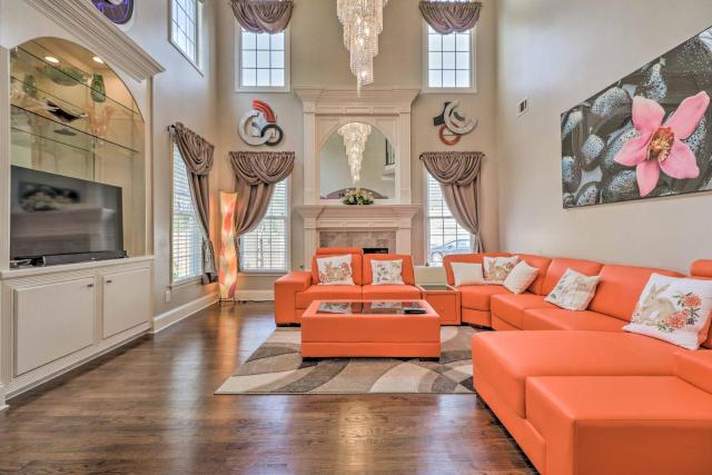Duluth Home with Furnished Patio-22 Mi to DT Atlanta