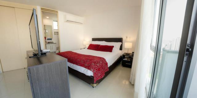 Confortable y Tranquilo Aparta Suite en el Corazón de Bucaramanga, Exterior con hermosa vista sobre la ciudad