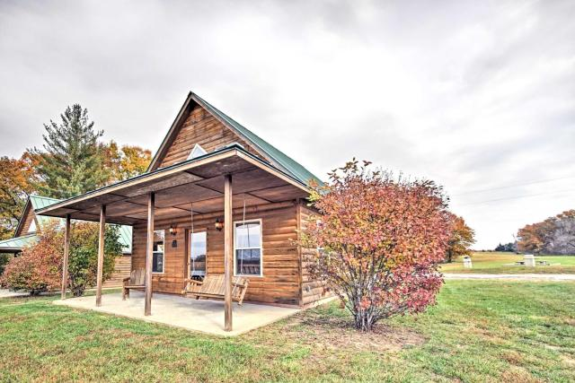 Lakefront Columbia Cabin with Views and Porch!