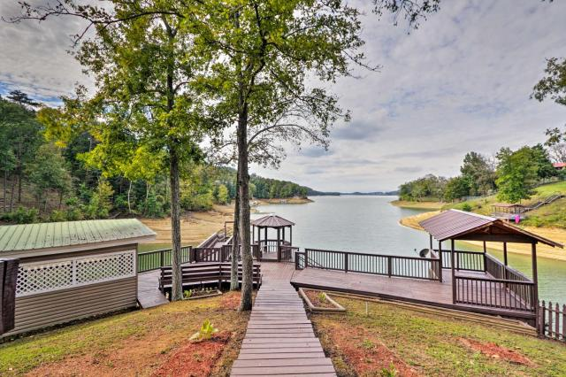 Remodeled Lakefront Dandridge Home with Deck and Dock!