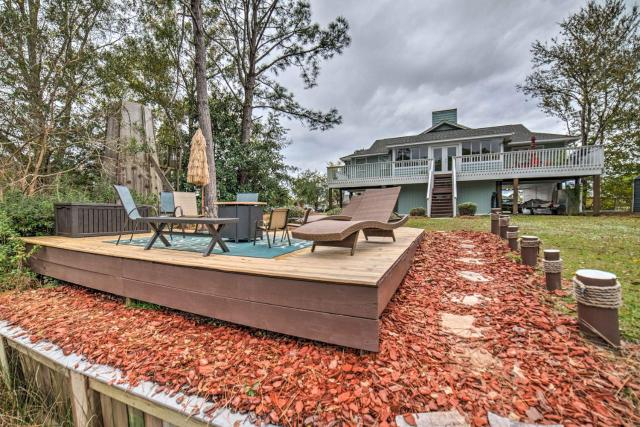 Unique Milton Home with Fire Pit, Dock and Grill!