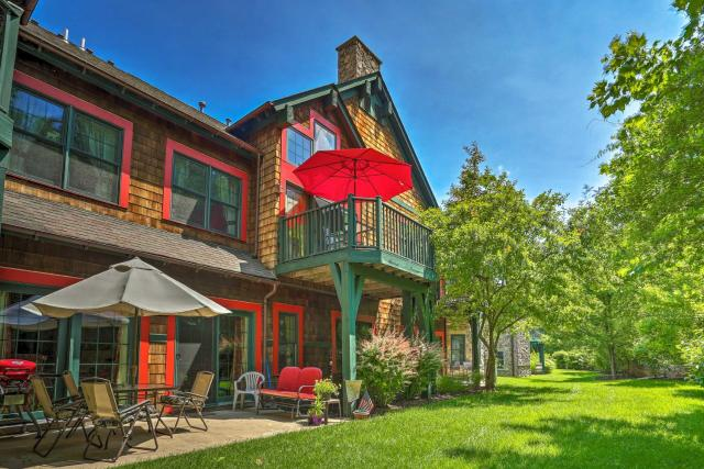 Condo with Pool Steps to Mountain Creek Attractions!
