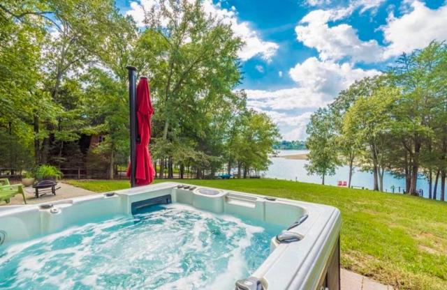 Waterfront Douglas Lake Home with Deck and Private Dock