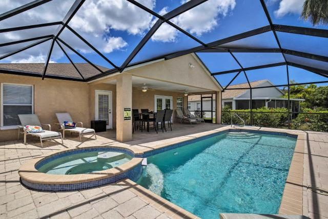 Bradenton Home with Lanai and Saltwater Pool and Spa!