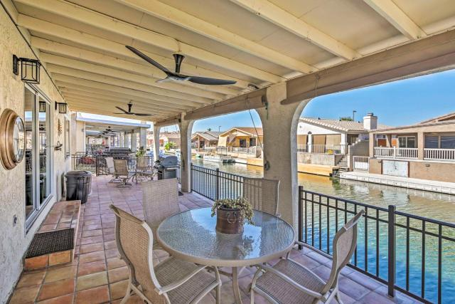 Waterfront Home in Parker with Mtn Views and Dock!