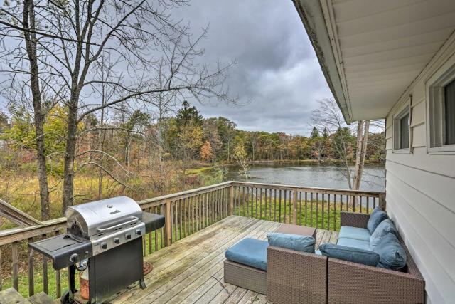 Upstate Family Lake House with Game Room and Deck!