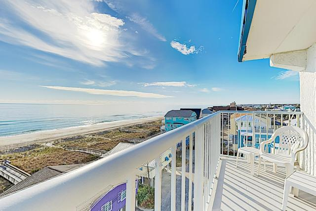 New Listing! Beachfront Perch with Sparkling Pool condo