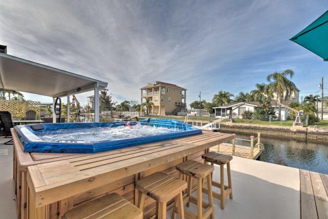 Canalfront Home with Dock and Access to Gulf of Mexico