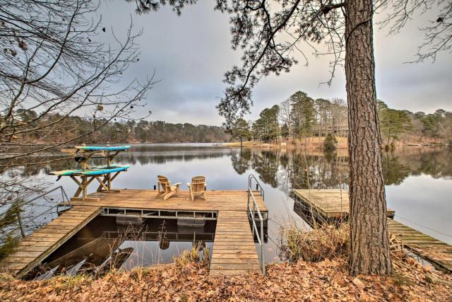 Renovated Lakefront Escape with Private Dock and Deck!